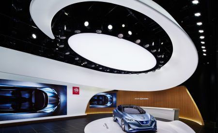 Nissan Crossing to the Future in Ginza