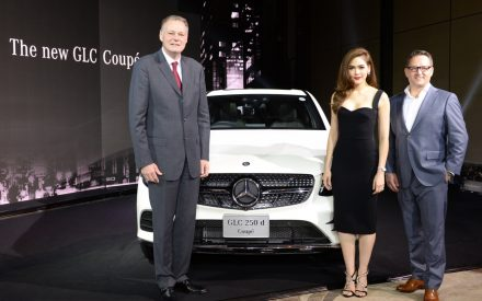 Mercedes-Benz expands Its SUV Range with The GLC 250 d 4MATIC Coupé