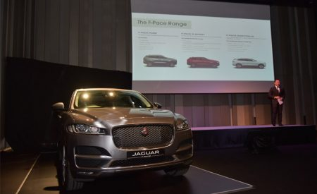 All-new F-PACE unveiled, the first Jaguar SUV brought by Inchcape (Thailand)