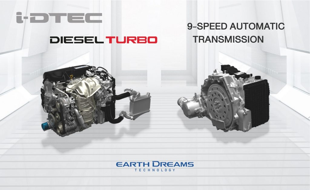 i-DTEC & 9-Speed Automatic Transmission