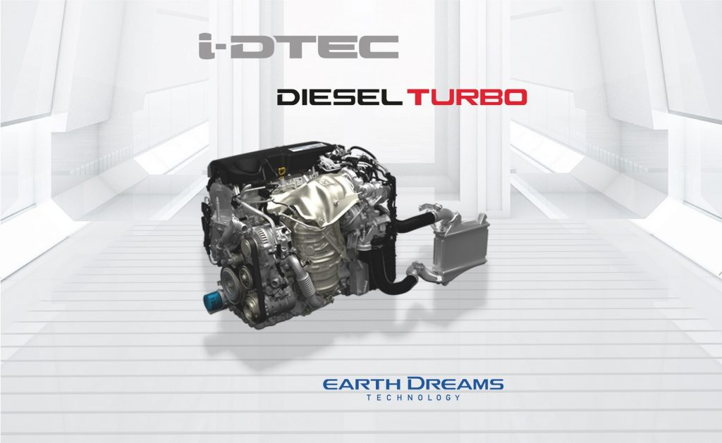i-DTEC Turbo engine