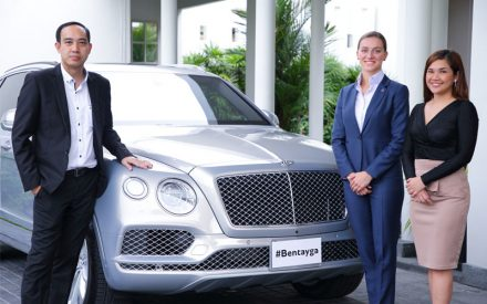 """Bentley Thailand organised extraordinary experience on the All-New Bentley Continental GT under """"The Glimpse of Future"""", Exclusively for customers"""