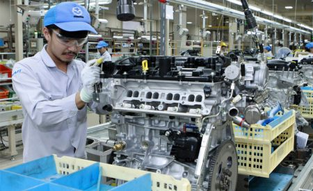 Mazda Opens Engine Machining Factory at Thai Powertrain Plant