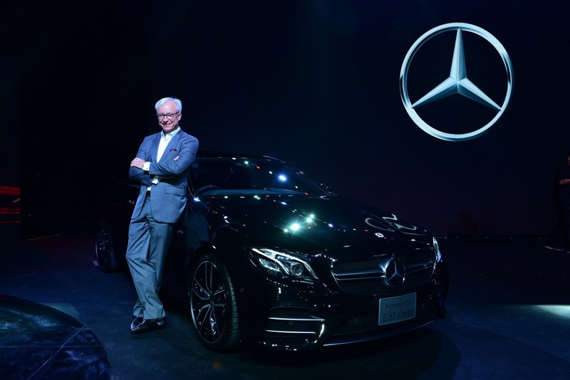 Mr. Roland Folger, President and CEO of Mercedes-Benz (Thailand) Limited (1)