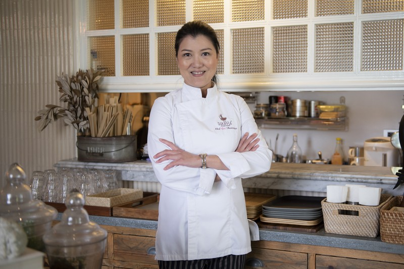 Chef Thananya Kaikaew aka Chef Gai, the Iron Chef Thailand for desserts (1)