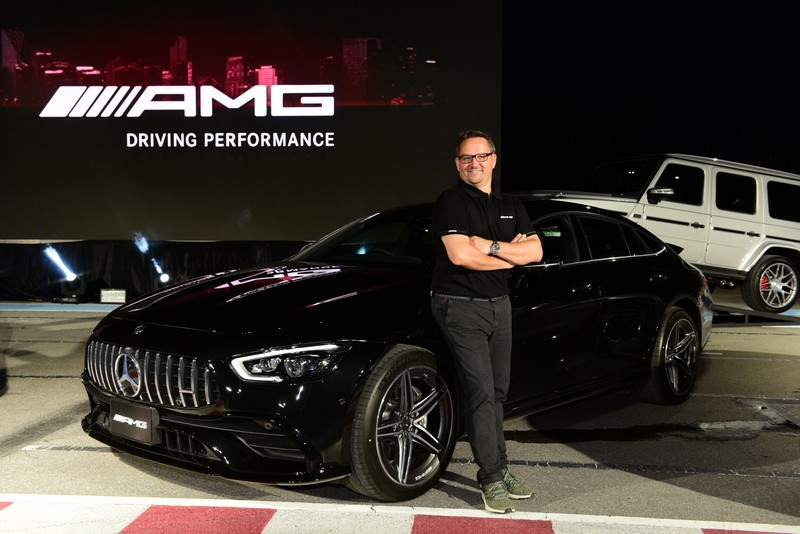 Mr. Frank Steinacher, Vice President of Sales and Marketing, Mercedes-Benz (Thailand) Limited