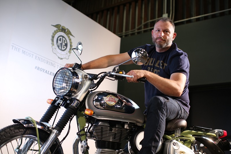 Mark Wells - Global Head, Product Strategy and Industrial Design, Royal Enfield