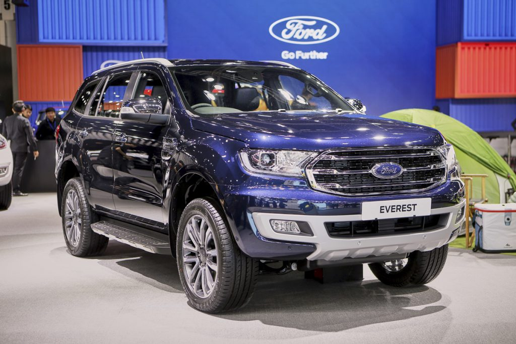 Ford Everest Titanium+